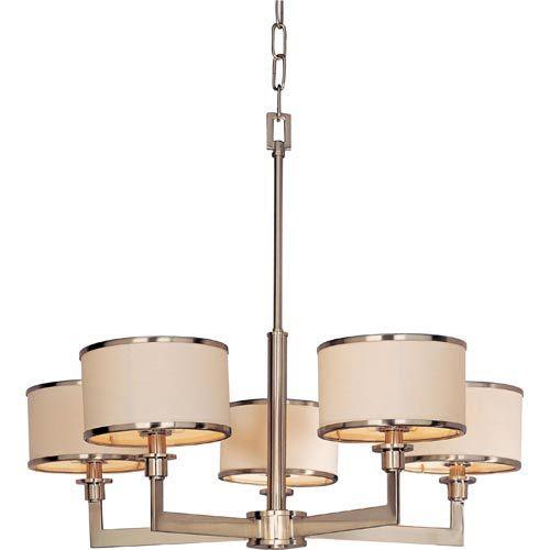 Maxim lighting international nexus satin nickel five light maxim lighting international nexus satin nickel five light chandelier on sale mozeypictures Gallery