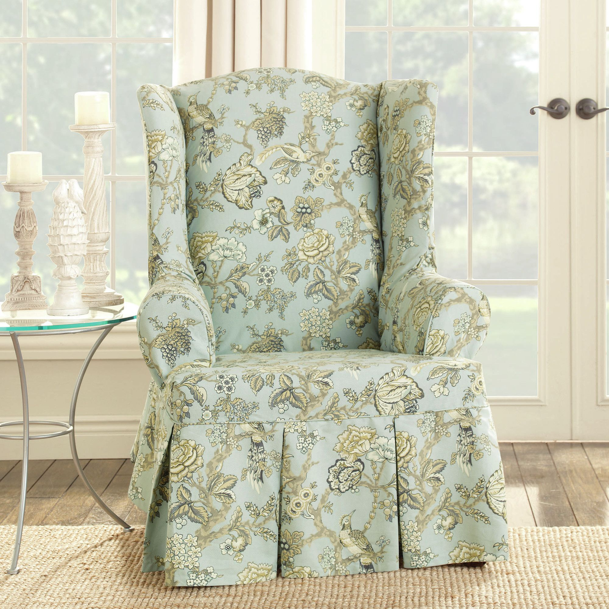 with home in arrangement gallery on decor wingback modern excellent inspiration chair slipcovers great ideas wing slipcover luxury most to remodel