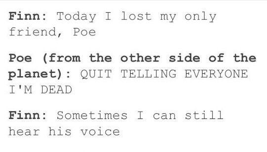 Finn and Poe