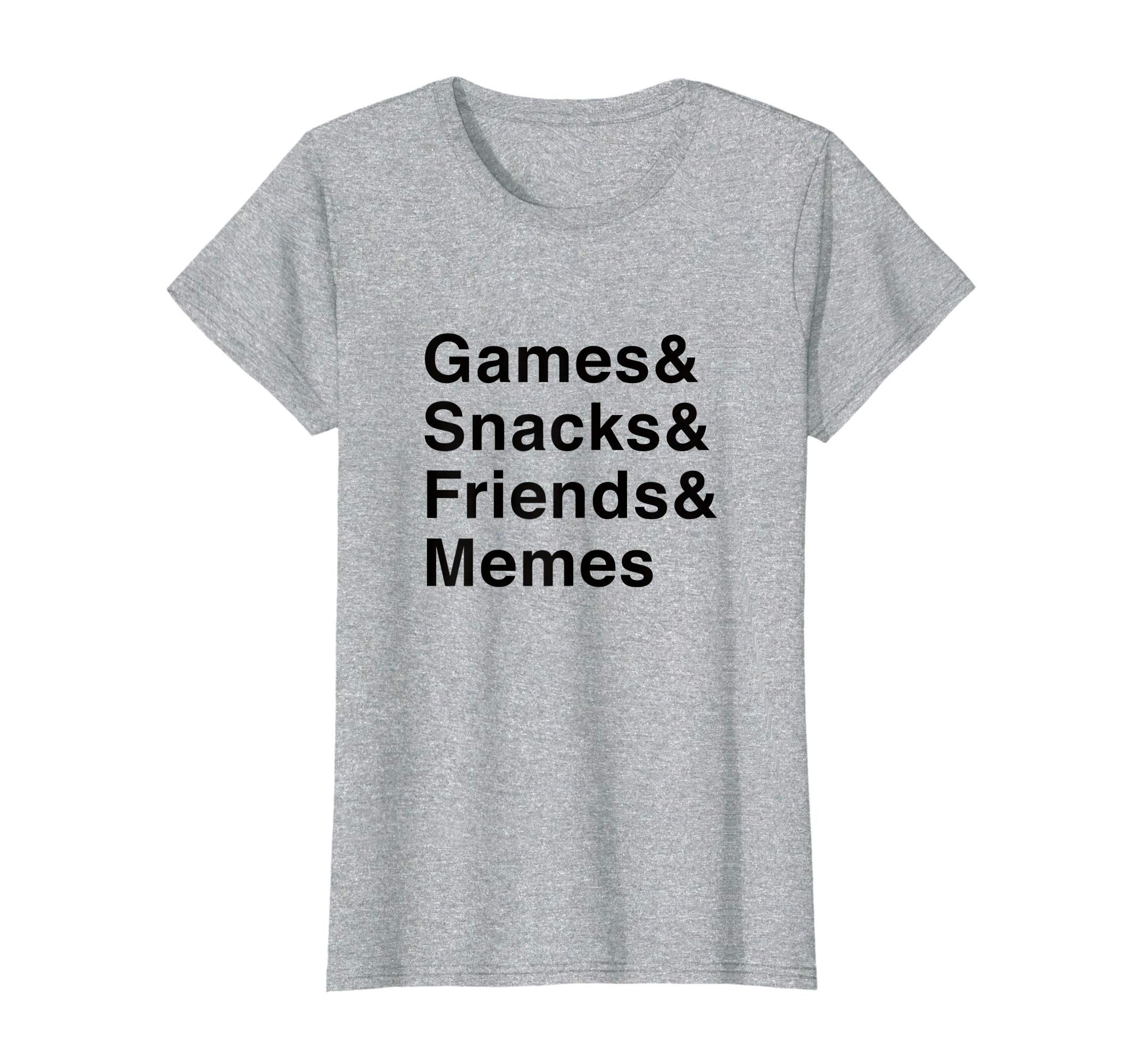 Multiplayer Games & Snacks & Friends & Memes T