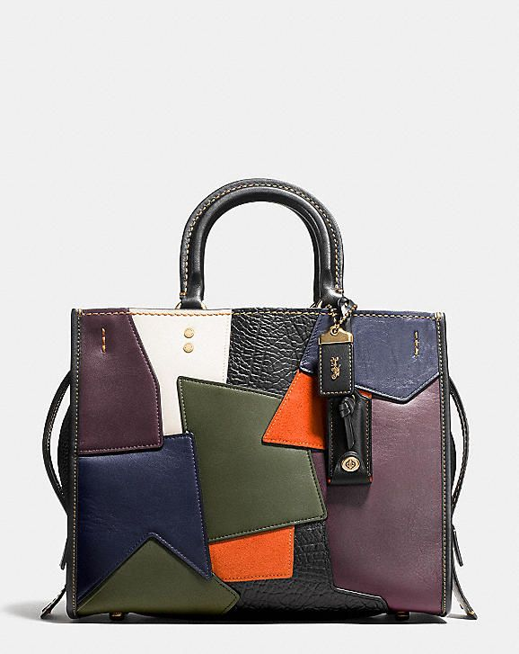 3c91881e416f ROGUE BAG IN PATCHWORK LEATHER. ROGUE BAG IN PATCHWORK LEATHER Coach Tote