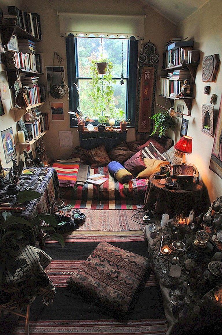 49 Top Apartment Bedroom Decor Ideas Boho Style Hippie