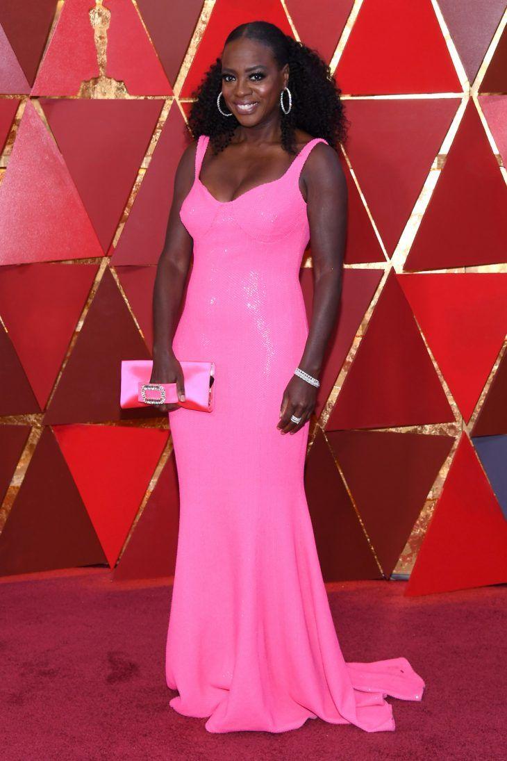 viola-davis-pink-dress-vestido-pink-oscar-2018-tapete-vermelho ...
