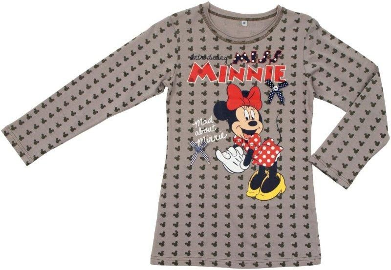 Minnie Mouse Bimba Maglietta a Maniche Lunga