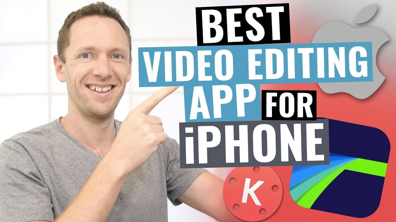 Best Video Editing App for iPhone 2018 YouTube Video