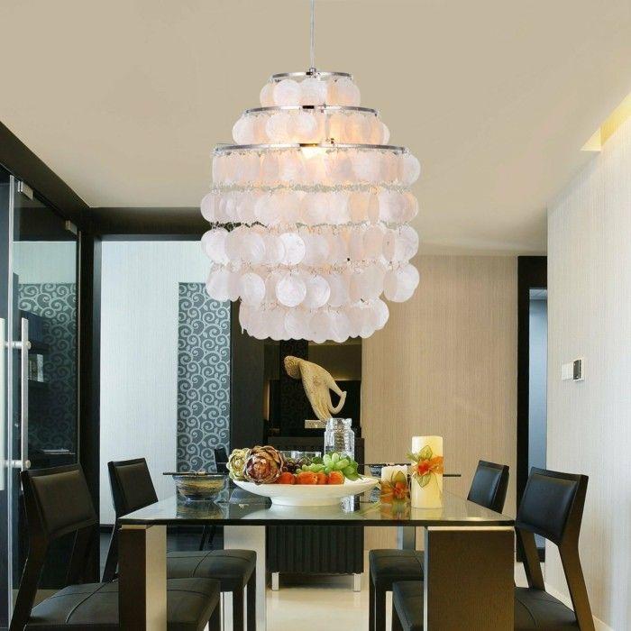 Kronleuchter Weiß Prachtvolles Design Moderne Einrichtung