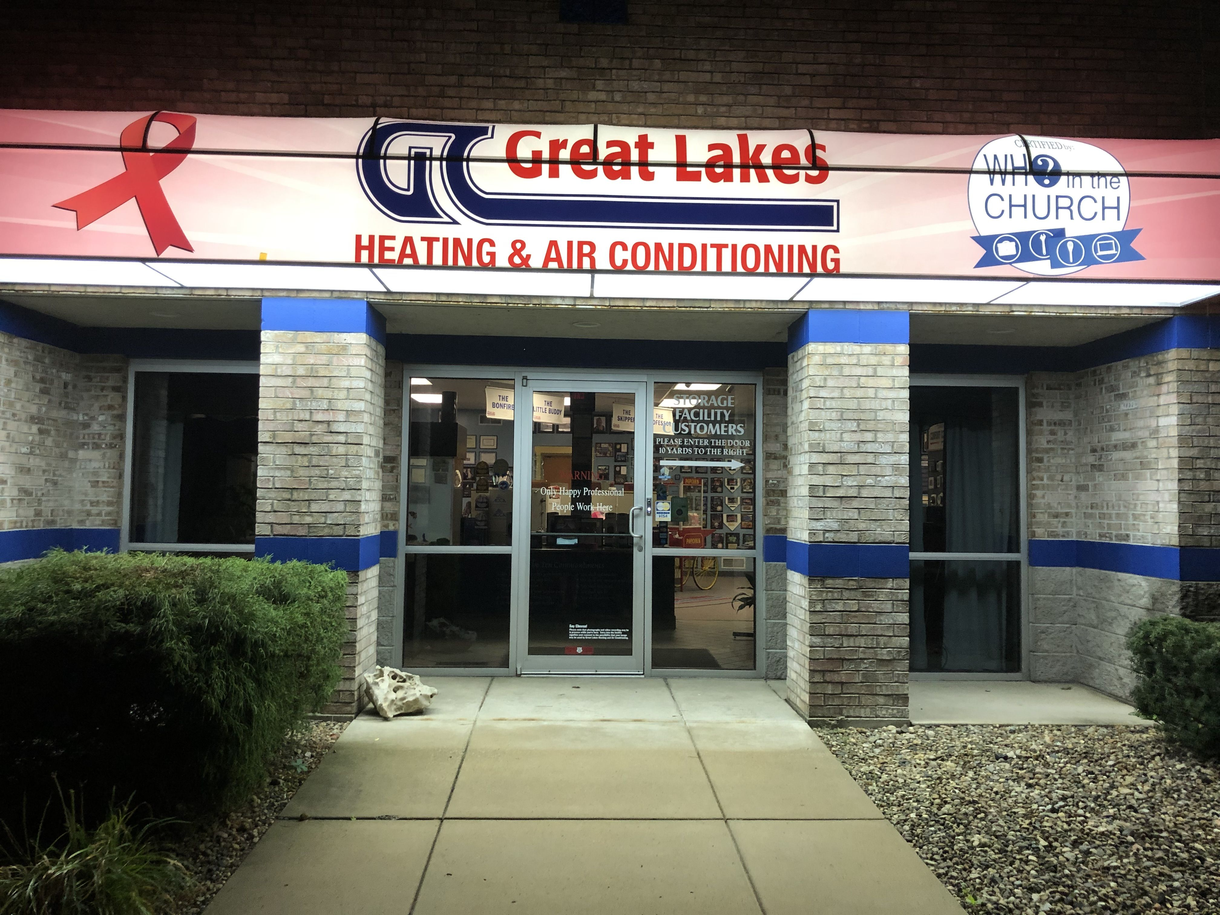 Great Lakes Awning Heating And Air Conditioning Great Lakes