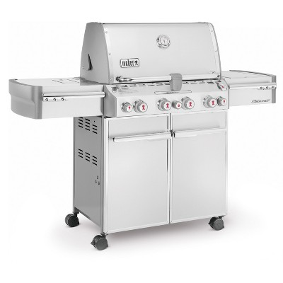 Weber Summit S 470 Lp Gas Grillmodel 7170001 In 2020 Gas Grill Reviews Natural Gas Grill Gas Grill