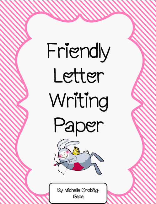 Mrs AColwells Class Valentines Day Friendly Letter FREEBIE