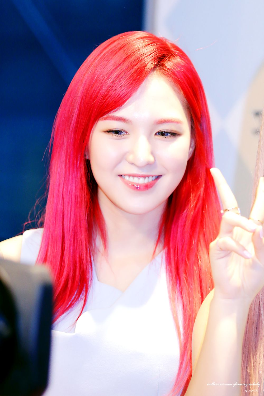 Red Velvet Wendy Red Velvet Wendy Red Hair 17  Son Seungwan  Red Velvet