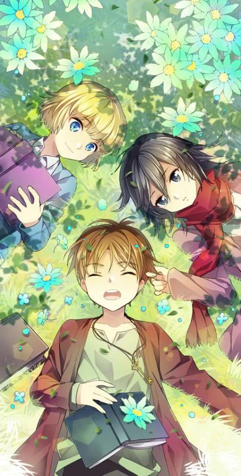 Shiganshina trio