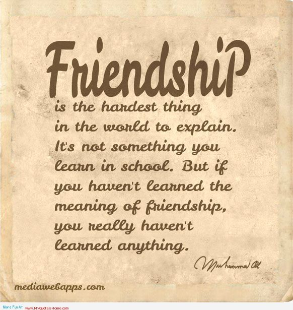 This Post Has The Best Friendship Quotes Collection. These Friendship Quotes  Are From Famous Authors.