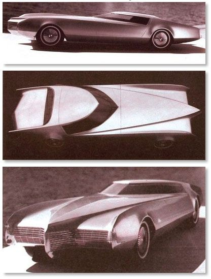 Worked with Ed Taylor and Cadillac Studio. On this when in design development  right out of school. Influenced 1st Toronado