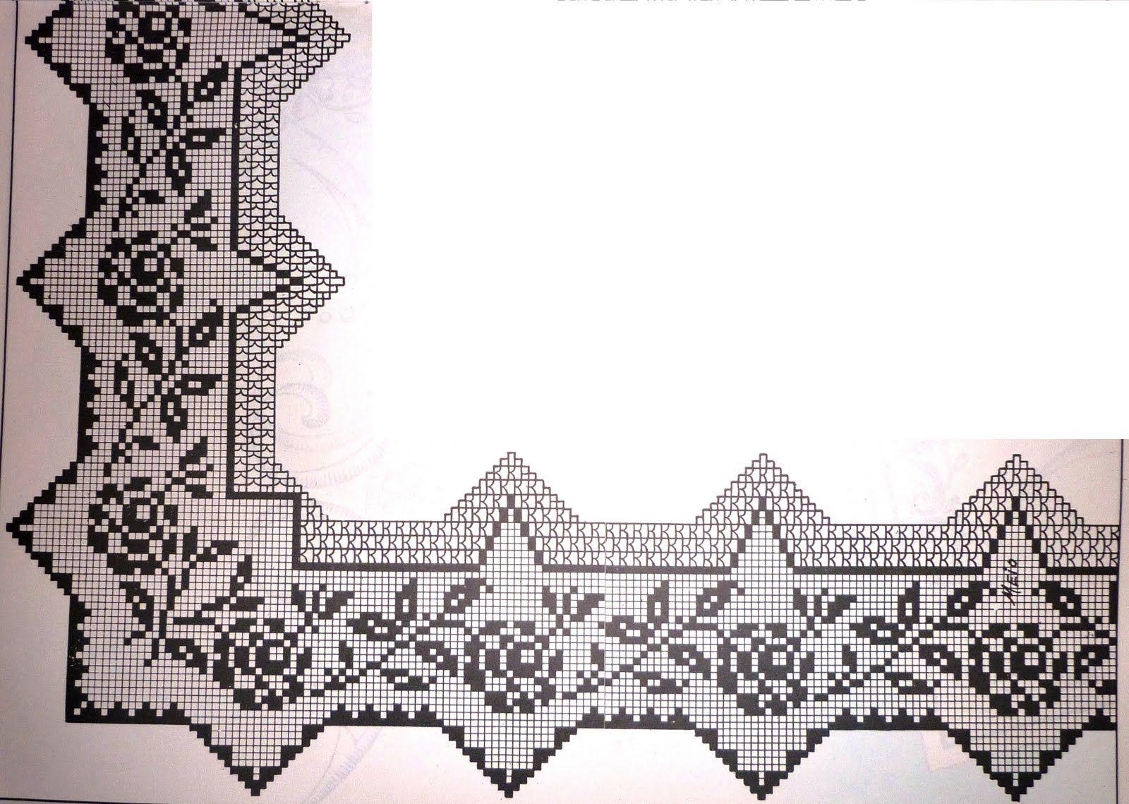 crochet em revista: Pontas e mais pontas... | kanava | Pinterest ...