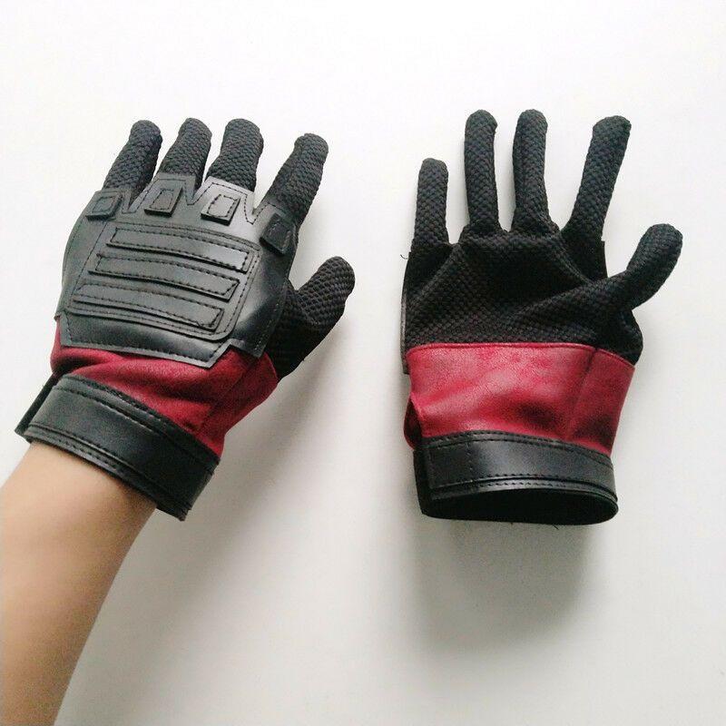Deadpool Gloves Costume Adult Man Halloween Cosplay Fancy Costume Accessory