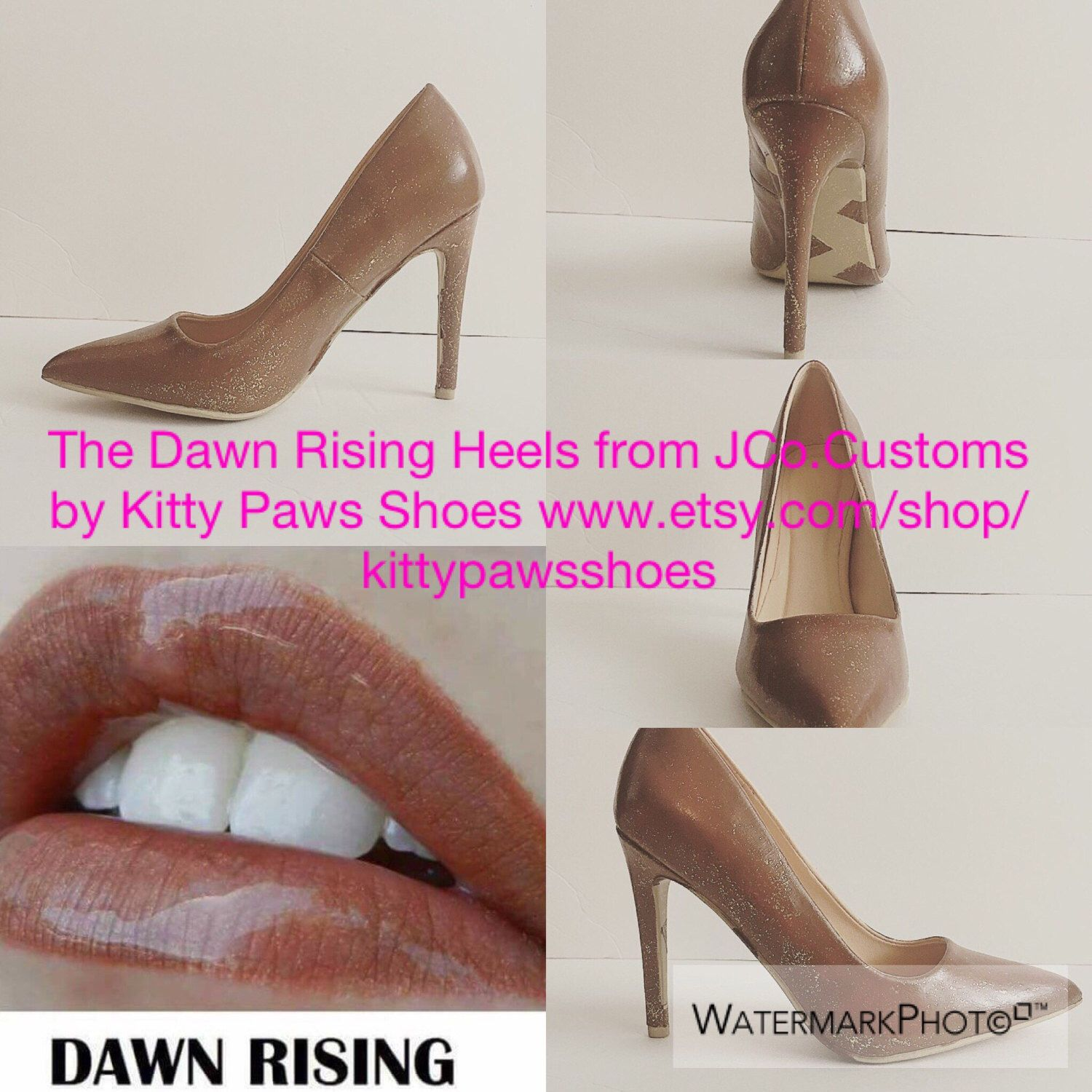 A personal favorite from my Etsy shop https://www.etsy.com/listing/510405175/the-dawn-rising-heels-from-jcocustoms-by