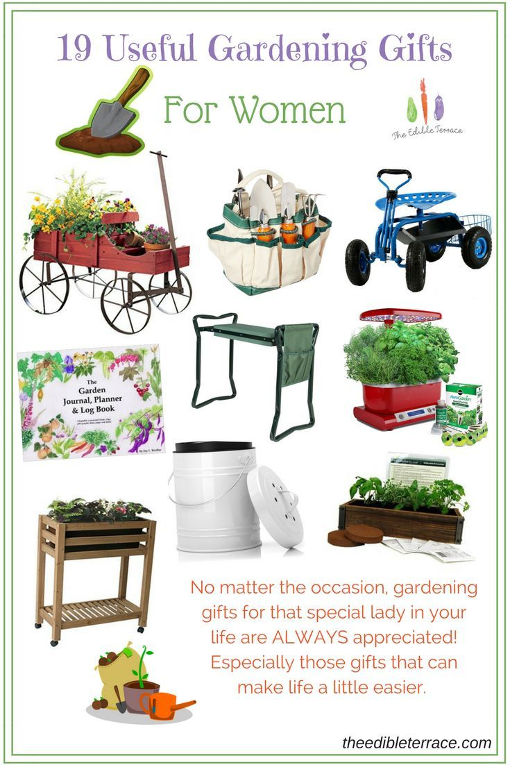Gift ideas for the ladies in your life who love to garden