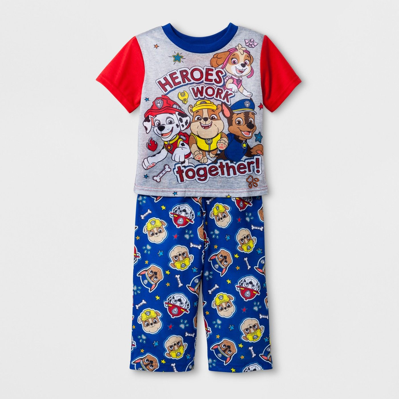 c68b72262 Toddler Boys  PAW Patrol 2pc Pajama Set - Red 5T  PAW