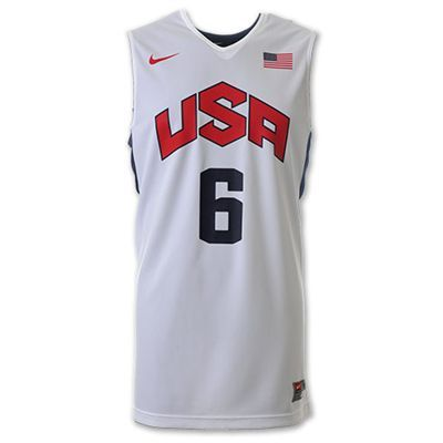 Fitting for a Superstar like LeBron James he all new 2012 Team USA Olympics  Authentic Basketball Jersey by Nike is the most advanced Jersey ever worn  by the ... 06bafa2f7093