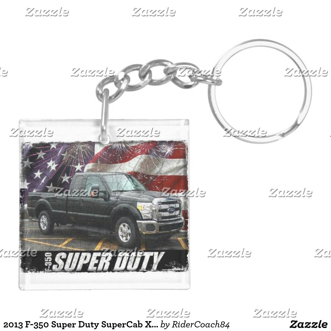 2013 F-350 Super Duty SuperCab XLT Long Bed Keychain