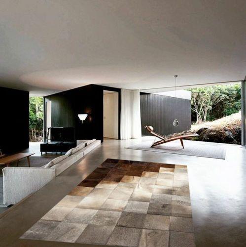 Neu Kuhfell Patchwork teppich von LuxuryCowhide auf Etsy Live - Kuhfell Teppich Wohnzimmer