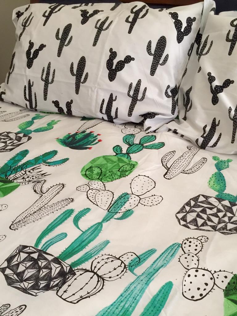 Cactus Bedspread New Room Home Bedroom
