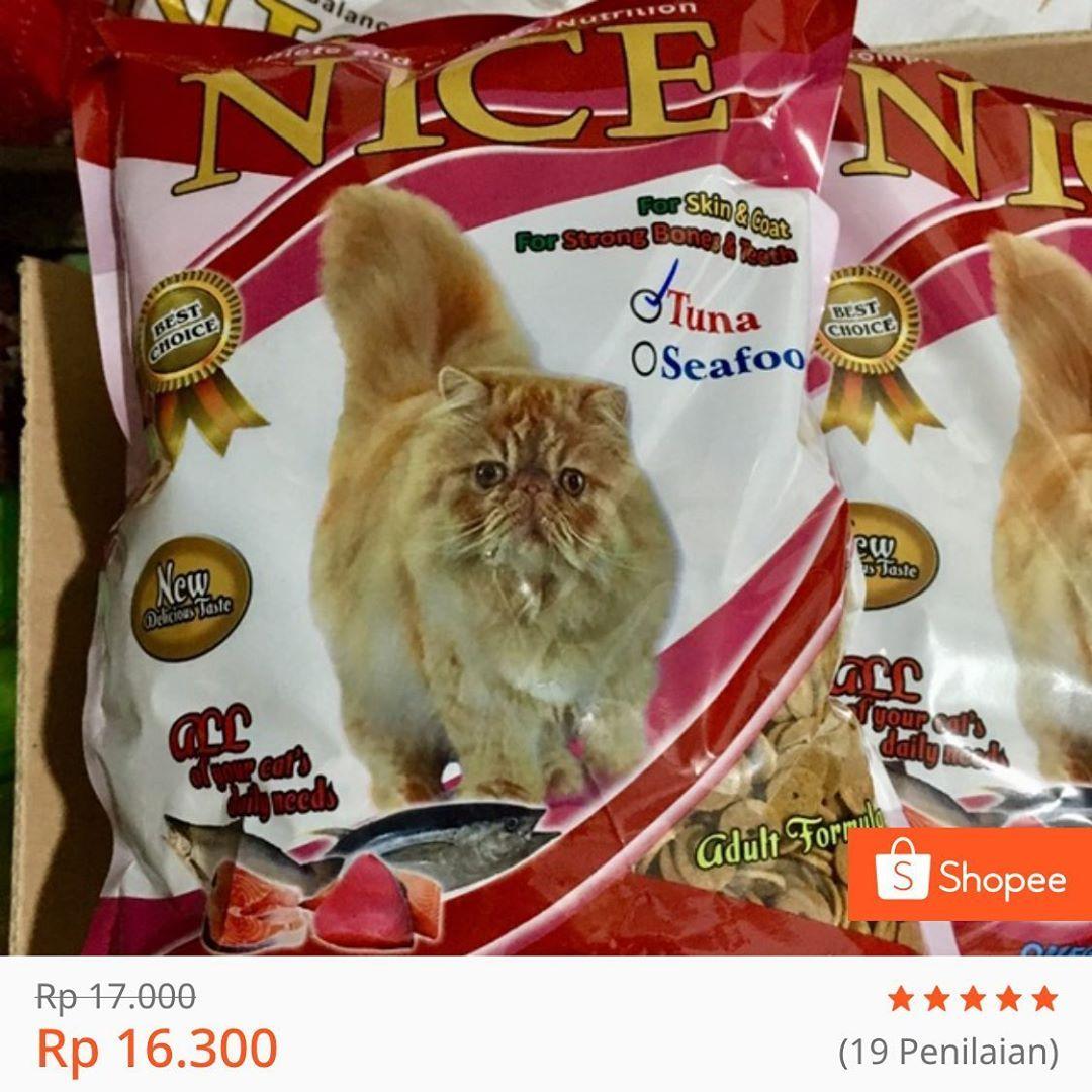 Dry Food Deals Nice Catfood Is Now On Discount Shopee Only Ada 3 Items Yang Masuk Dalam Best Price Deal Ini Ya Teman Teman Nice Bolt Dan Cat Food