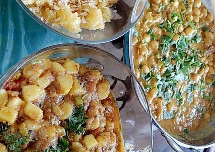 Recipe Delicious Halwa Channa Breakfast Di 2021 Resep Makanan Ghee Garam Masala