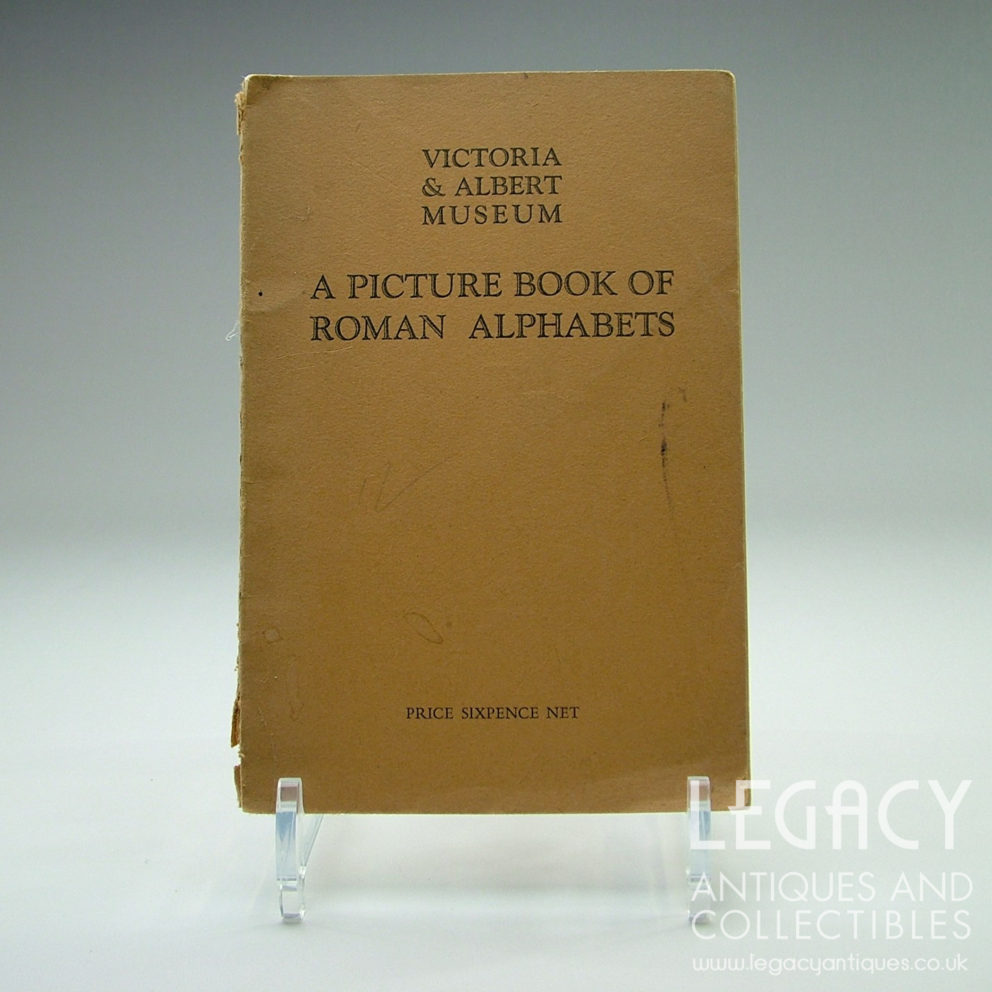 A Picture Book Of Roman Alphabets By Victoria Amp Albert