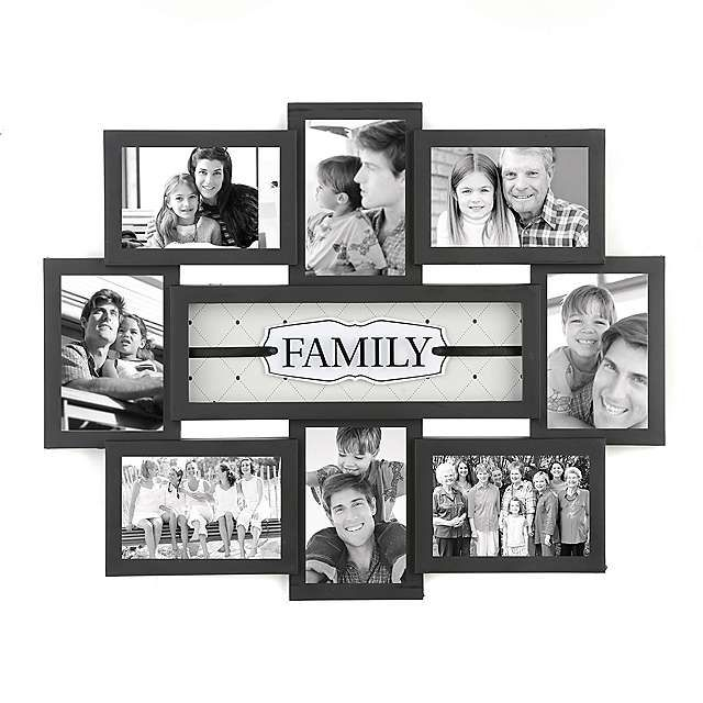 Family Shadowbox Black Collage Frame | Kirklands | home diy projects ...