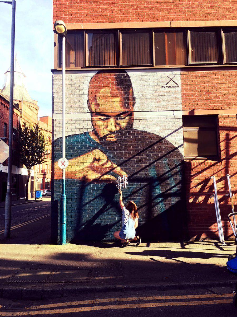 62b92b2c212 Image result for kanye west mural belfast