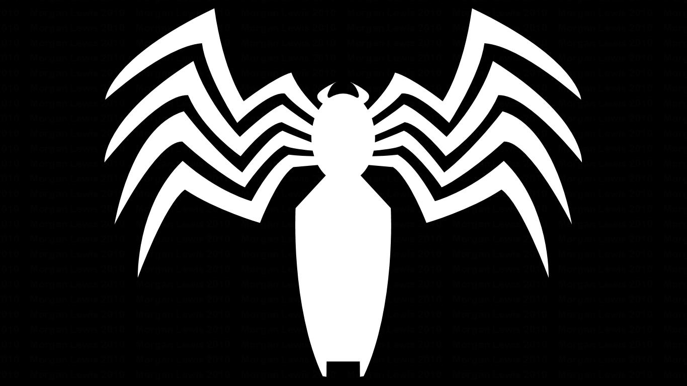 Black spider man and venom symbol wp by morganrlewisiantart black spider man and venom symbol wp by morganrlewisiantart on biocorpaavc