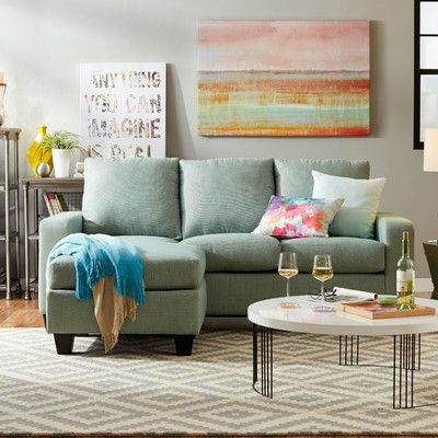 You Ll Love The Morpheus Reversible Sectional At Wayfair Great Deals On All Products With Free Shipping On Small Sectional Sofa Sectional Ottoman Furniture