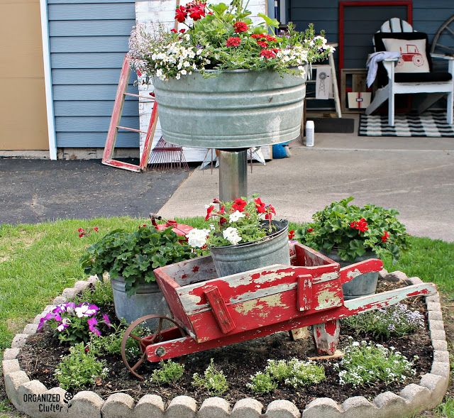 Small Garden Secrets: Junk Garden Ideas 2018 Edition