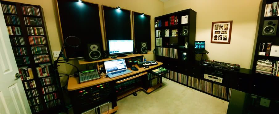 Dj Studio Setup Google Search Dj Room S Pinterest