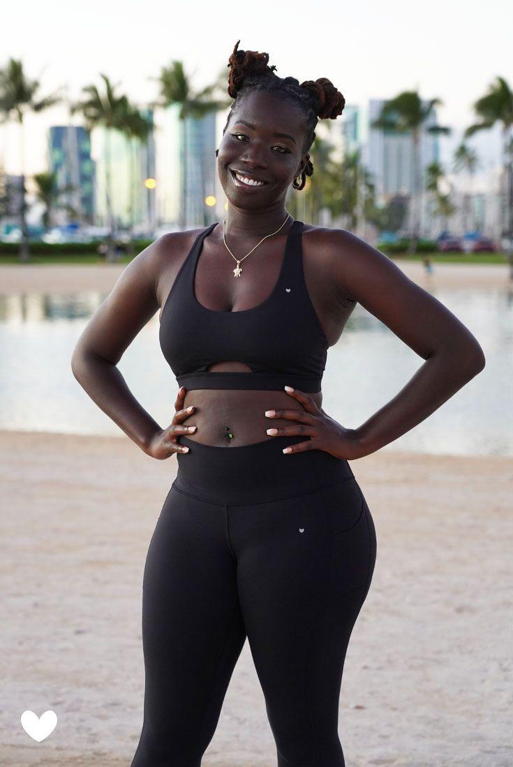 Leilani Sports Bra - Black