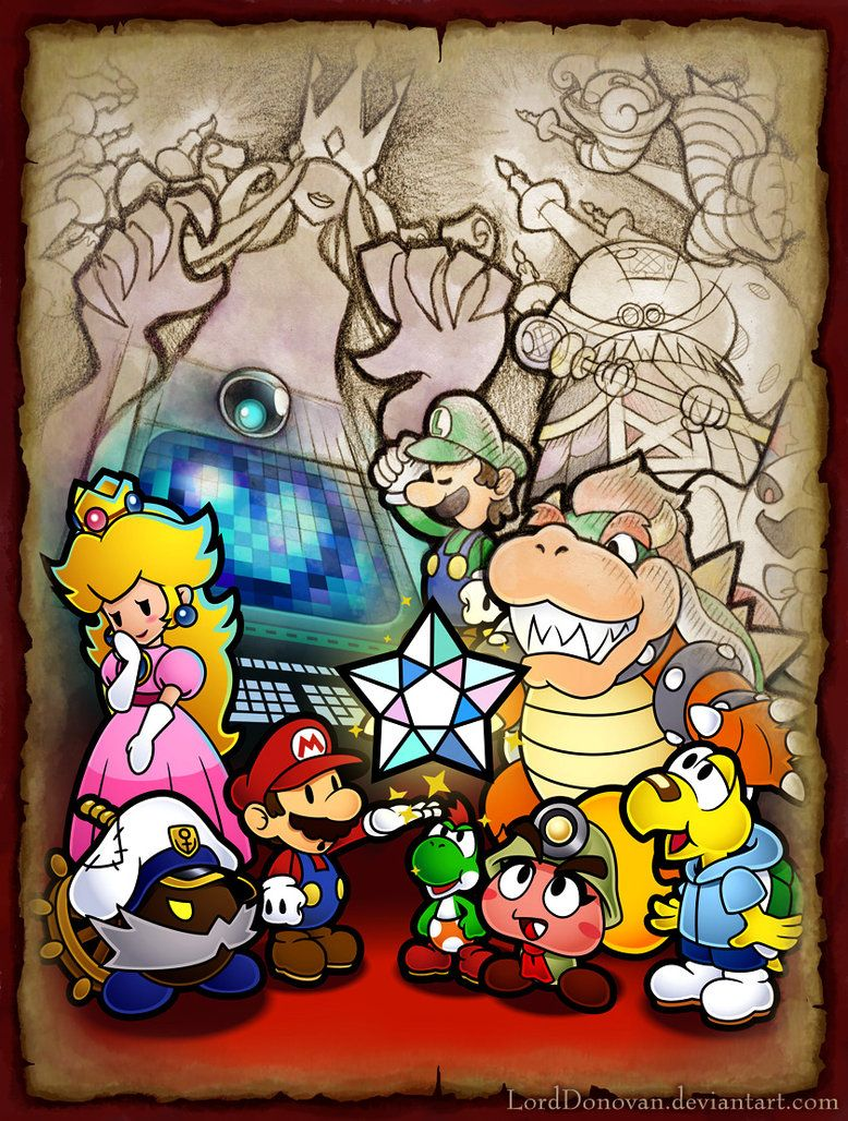 I really like paper mario 2 by lorddonovan for 1000 year door