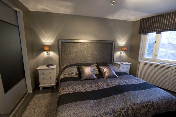 Ylellinen makuuhuone ‹ Sisustussuunnittelija Milla Alftan