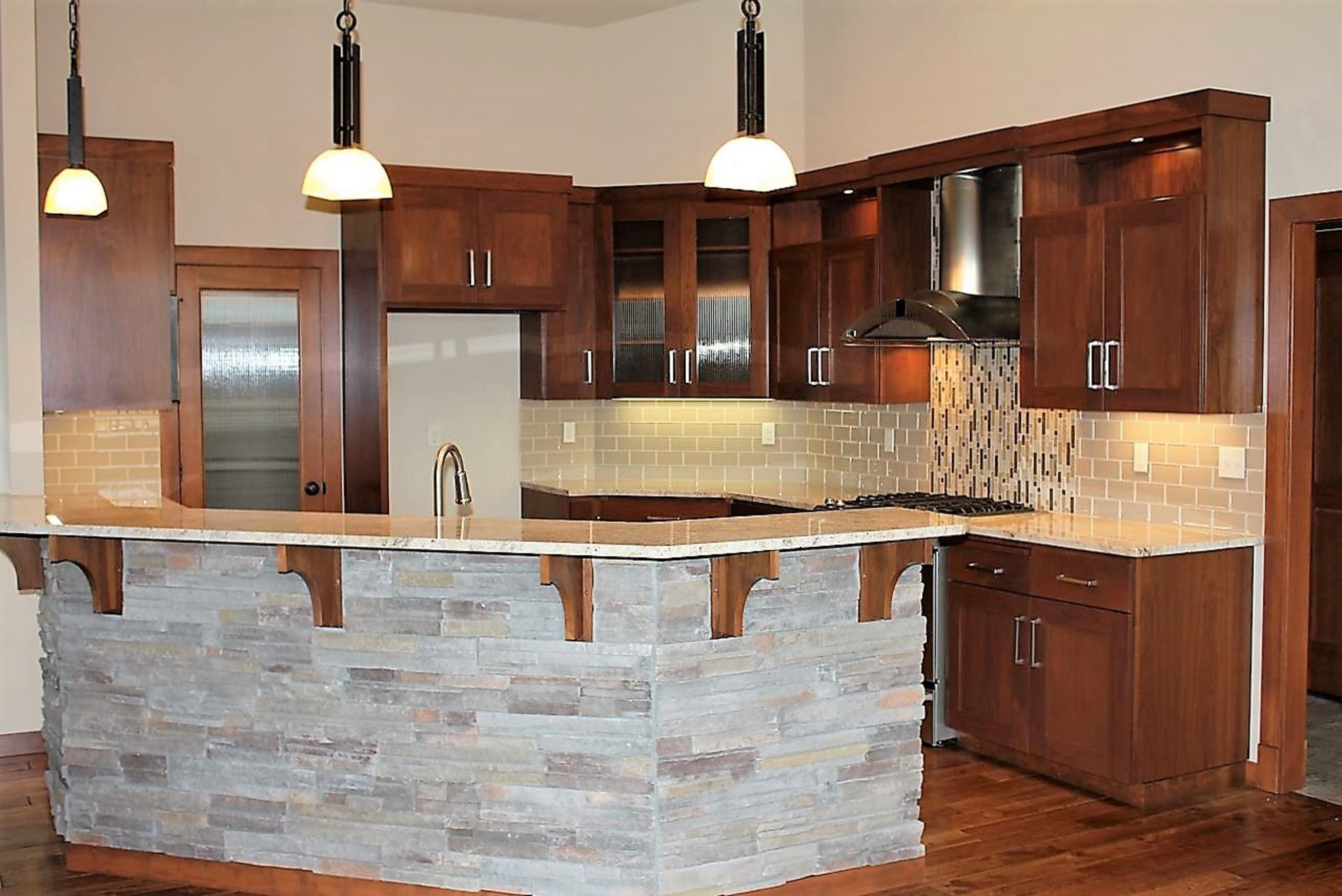 Custom Kitchen Cabinets Spokane Wa | Glass kitchen cabinet ...