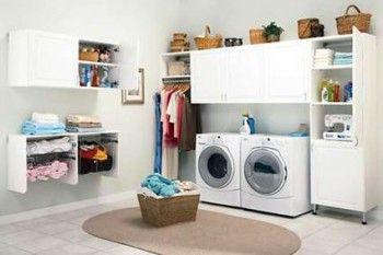 Tener una zona de lavandería ofrece confort y comodidad al usuario, y elegancia y estilo al resto de la decoración del hogar.  Fuente: http://www.arqhys.com/como-crear-una-area-de-lavanderia-en-el-hogar.html