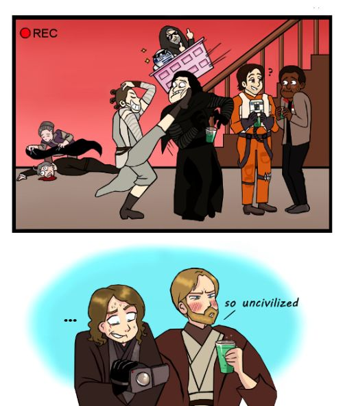 Just anakin omg the droids you 39 re looking for star wars art star wars star wars episodes - Dessin star wars ...