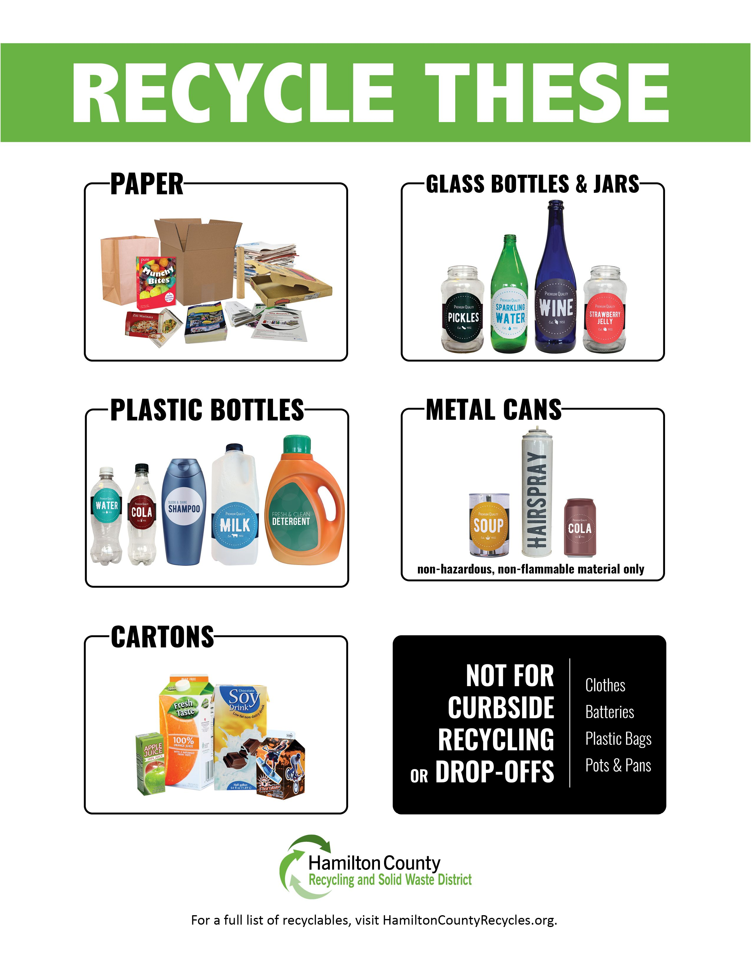 What Can I Recycle Find Out What Can Go In Your Bin Or