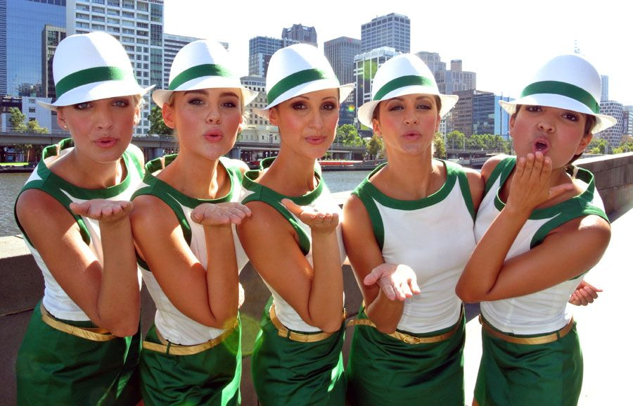 The Rolex Grid girls in Melbourne (With images) Grid
