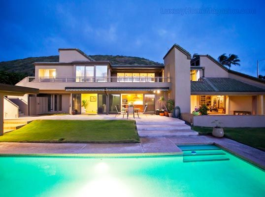 Luxury Homes With Pools luxury home magazine hawaii #luxury #homes #pools #backyards