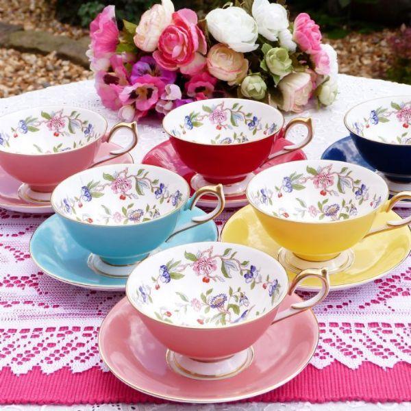 Aynsley China Fl Vintage Tea Set Pembroke Pattern Http Www Cakestandland