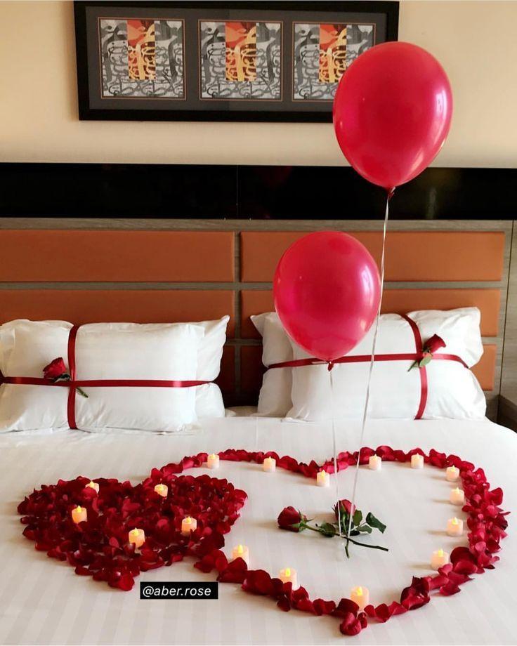 Enamora A Un Hombre Aniversario Decoracion Decoraciones De Amor Habitaciones Romanticas Decoracion