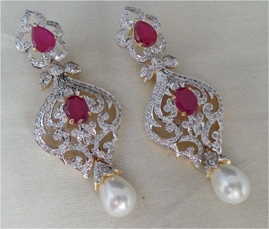 Chandelier earrings online india 200ct gold gemstone gold festive chandelier earrings online india 200ct gold gemstone gold festive aloadofball Image collections