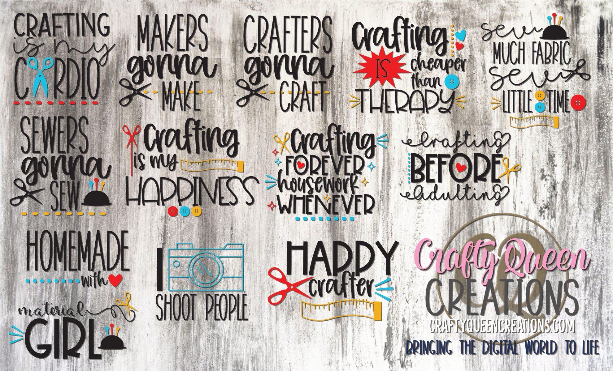 Coupon Queen Couponing SVG and Cut Files for Crafters