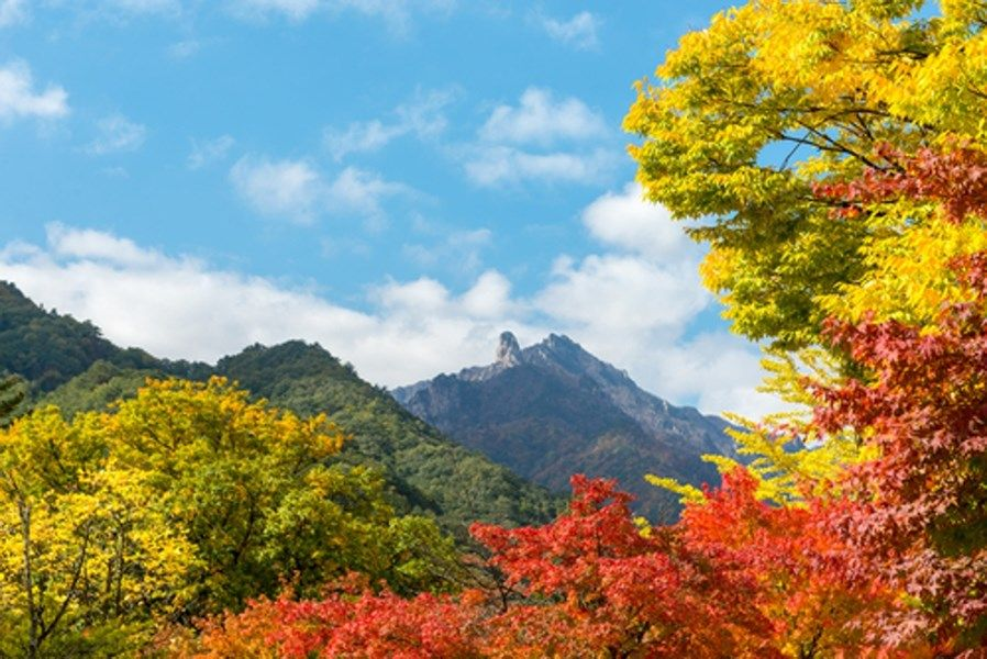 Seoraksan Nationaal Park, Zuid-Korea