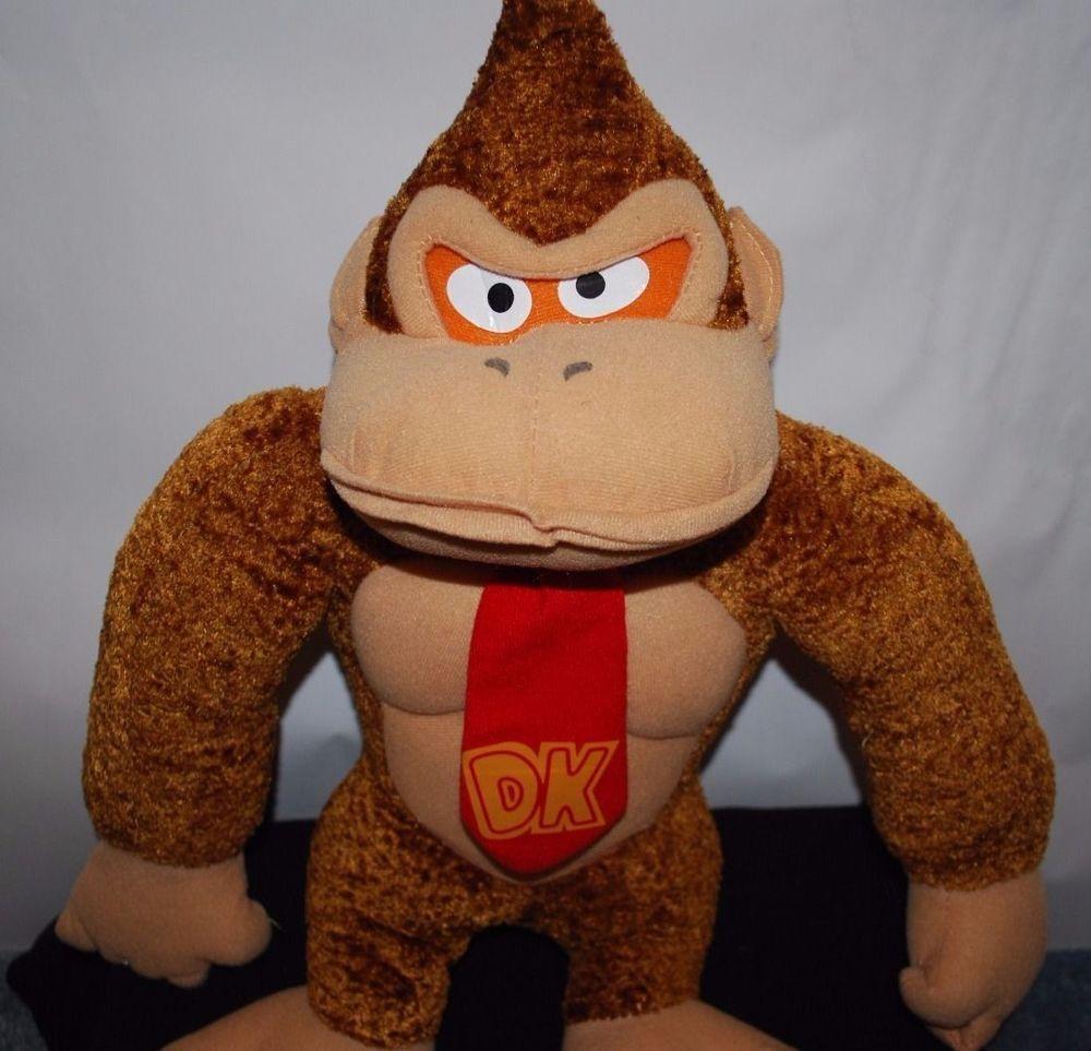 Nintendo Donkey Kong Plush Stuffed Animal Monkey ...